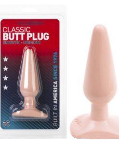 Classic Butt Plug - Flesh 14 cm (5.5'') Medium Smooth Butt Plug