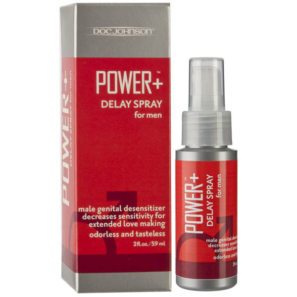 Power + - Delay Spray for Men - 59 ml Bottle   Velvet Vault