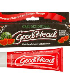 GoodHead Oral Delight Gel - Watermelon Flavoured Oral Sex Lotion - 113 g Tube