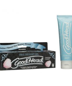 GoodHead Oral Delight Gel - Cotton Candy Flavoured Oral Sex Lotion - 113 g Tube