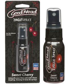 GoodHead Tingle Spray - Sweet Cherry Flavoured - 29 ml Spray