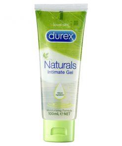 Durex Naturals Intimate Gel - Water Based Lubricant - 100 ml Tube