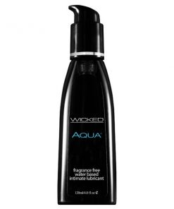 Wicked Aqua - Water Based Lubricant - 120 ml (4 oz) Bottle