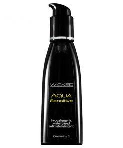 Wicked Aqua Sensitive - Water Based Lubricant - 120 ml (4 oz) Bottle