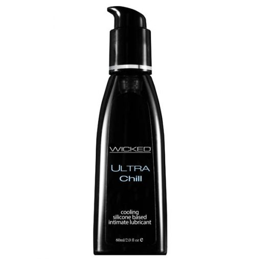 Wicked Ultra Chill - Cooling Silicone Lubricant - 60 ml (2 oz) Bottle