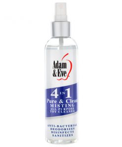 Adam & Eve 4 In 1 Pure & Clean - Misting All Purpose Toy Cleaner - 118 ml Bottle