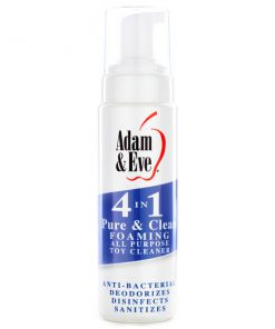 Adam & Eve 4 In 1 Pure & Clean - Foaming All Purpose Toy Cleaner - 237 ml Bottle