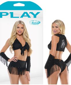 PLAY SASSY IN THE SADDLE Cowgirl Costume -