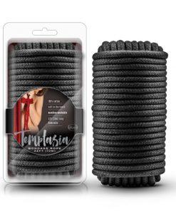 Temptasia Bondage Rope - Black - 10 metre length