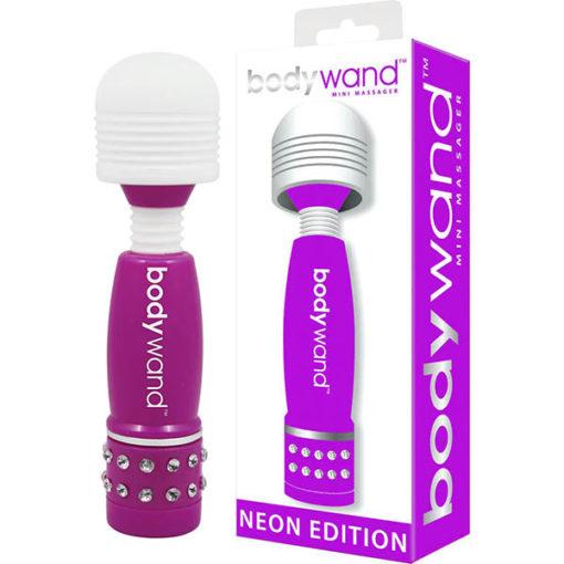 Bodywand Mini Massager Neon Edition - Neon Purple Mini Massage Wand