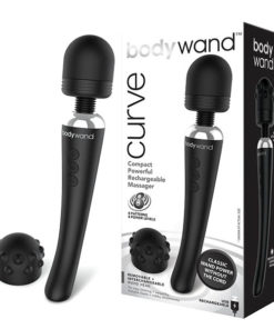 Bodywand Curve - Black USB Rechargeable Massager Wand