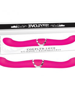 Coupled Love - Purple USB Rechargeable Vibrating Double Dong