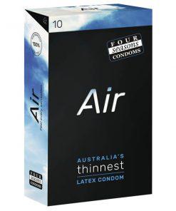 Four Seasons Air - Ultra Thin Latex Condoms - 10 Pack