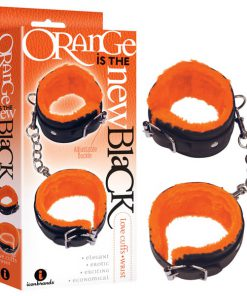 Orange Is The New Black - Love Cuffs - Wrist - Black Fluffy Wrist Restraints