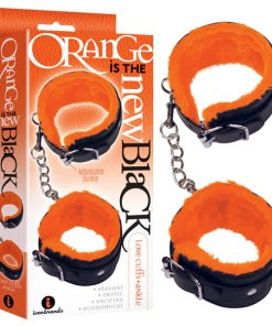Orange Is The New Black - Love Cuffs - Ankle - Black Fluffy Ankle Restraints