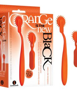 Orange Is The New Black - Hell On Wheels - Orange Wartenberg Wheels - 2 Pack