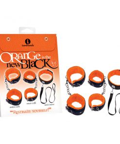 Orange Is The New Black Kit #1 - Restrain Yourself! - Bondage Kit - 3 Piece Set