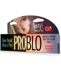 Pro Blow Oral Pleasure Gel - Cherry Flavoured - 29 ml (1 oz) Tube