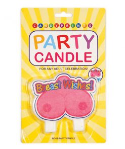 Breast Wishes Boob Candle - Novelty Candle