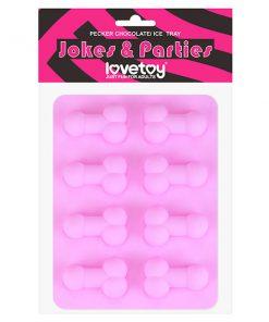Jokes & Parties Pecker Chocolate/Ice Tray - Silicone Tray - Makes 8 Dickies