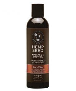 Hemp Seed Massage & Body Oil - Coconut Water