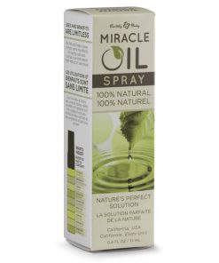Miracle Oil Mini Spray - Skin Soothing Spray with Hemp Seed Oil - 12 ml Spray Bottle