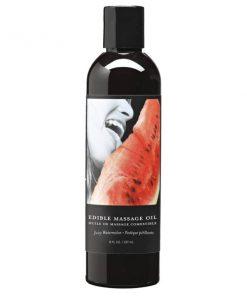 Edible Massage Oil - Juicy Watermelon Flavoured - 237 ml Bottle