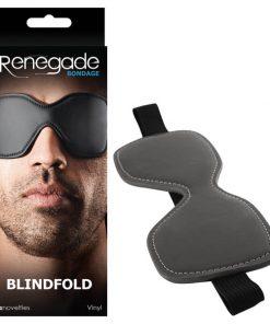 Renegade Bondage - Blindfold - Black Blindfold