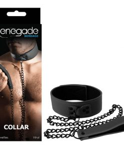Renegade Bondage - Collar - Black Restraint