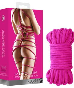 OUCH! Japanese Rope - Pink - 10 metre Length