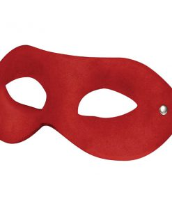 Ouch Eyemask - Red Suede Eye Mask