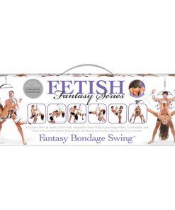 Fetish Fantasy Series Fantasy Bondage Swing - White Swing