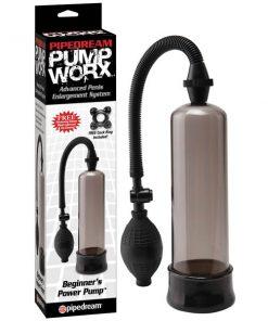 Pump Worx Beginner's Power Pump - Smoke Penis Pump