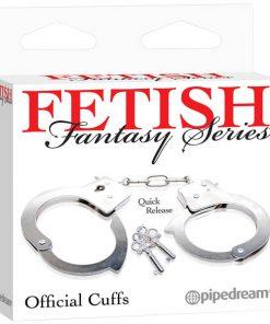 Fetish Fantasy Series Official Handcuffs - Metal Hand Cuffs
