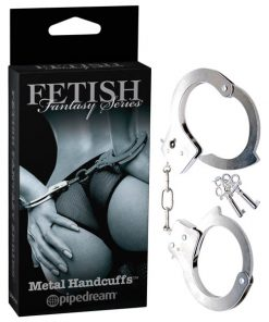 Fetish Fantasy Series Limited Edition Metal Handcuffs - Metal Handcuffs