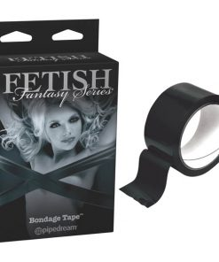 Fetish Fantasy Series Limited Edition Bondage Tape - Black Bondage Tape - 10 m Length