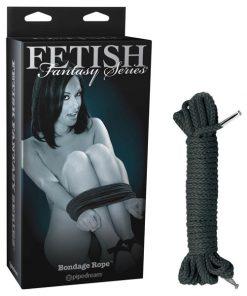 Fetish Fantasy Series Limited Edition Bondage Rope - Black Bondage Rope - 8.9 m length