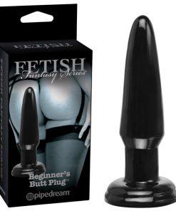Fetish Fantasy Series Limited Edition Beginner's Butt Plug - Black 9.5 cm (3.75'') Butt Plug