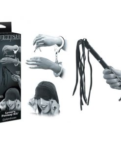 Fetish Fantasy Series Limited Edition Lover's Fantasy Kit - Bondage Kit - 3 Piece Set