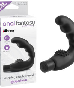 Anal Fantasy Collection Vibrating Reach Around - Black 10.75 cm (4.25'') Vibrating Prostate Wand