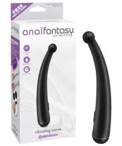 Anal Fantasy Collection Vibrating Curve - Black 17.1 cm (6.75'') Anal Vibrator