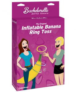 Bachelorette Party Favors Inflatable Banana Ring Toss - Hen's Night Novelty Game