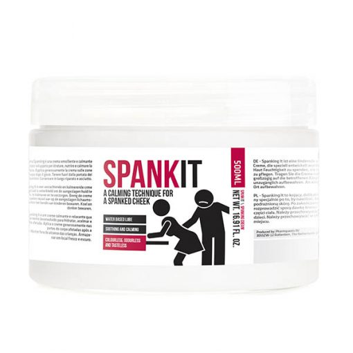 Pharmquests Spank It - Water Based Spanking Cream - 500 ml Tub