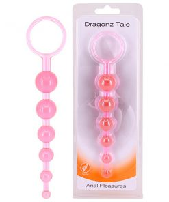 Seven Creations Dragonz Tale - Pink 20.5 cm Anal Beads