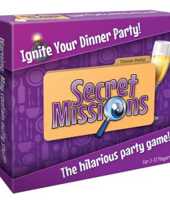 Secret Missions - Dinner Party - Party Game