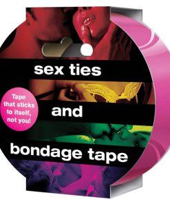Sex Ties And Bondage Tape - Pink Bondage Tape - 20 metres