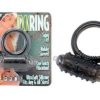 Cock Ring - Black Vibrating Cock Ring
