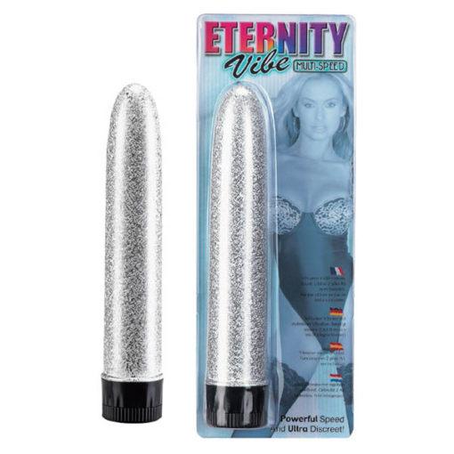 Eternity Vibe - Glitter Silver 16.5 cm (6.5'') Vibrator