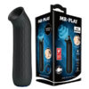MR PLAY Anal Sucking Plug - Black USB Rechargeable Anal Sucker