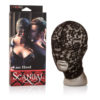 Scandal Lace Hood - Black Mask